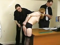 coarse thrashing of madison juvenile and degrading