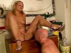 angel fucking and peeing on granddad