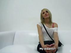 czech casting - super sexy masturbation youthful