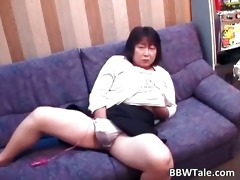 old sexually excited brunette hair oriental woman