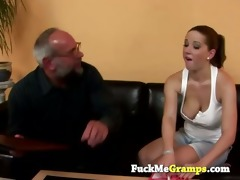 naughty angel teasing old teacher