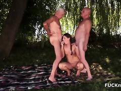 grandpas and a sexy 96yo playgirl