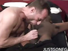 dark hawk - large dark dick pounding on