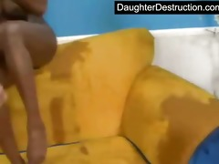daughters humiliated by old stud
