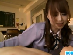youthful akiho yoshizawa loves to dominate