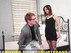 juvenile courtesans - drilled with a bonus