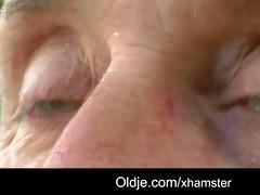 pervert oldman bangs shy horny golden-haired