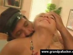 blond hooks up with granddad
