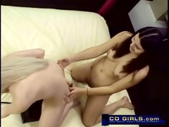 coarse girls non-professional sybian sex