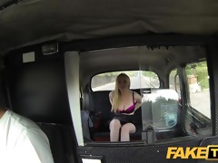 faketaxi stunning scottish golden-haired with