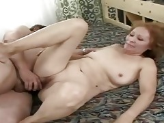 very old whore getting gangbanged by her hubby