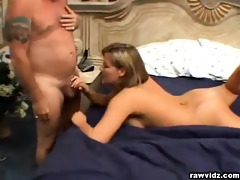 clair james, blond playgirl dares to fuck an old