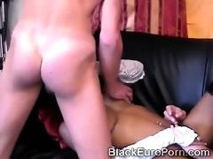 juvenile european dark gal acquires drilled hard