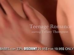 juvenile brunette hair hottie tiffany thompson