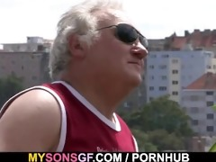 sexually excited father copulates his sons