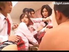 japanese schoolgirls fuck fest