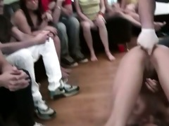 group of juvenile people sex on college