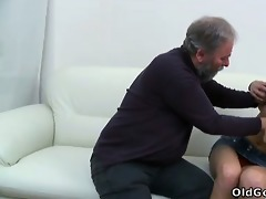 this old guy simply can\t control himself when he