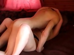 obese russian redhead with younger paramour