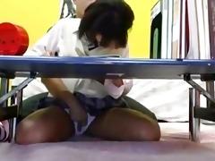 juvenile schoolgirl getting her titties rubbed