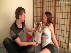 juvenile daughter oral-stimulation