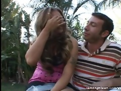 year old crissy cane takes knob
