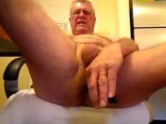 perverted oldman solo jock and booty joy