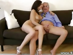 hawt juvenile chick getting pussy drilled by this