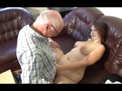 german older man makes youthful cutie lustful