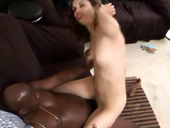 youthful sweetheart fucking ebon jock