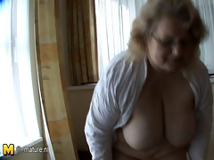 this large old lady desires schlong and cum