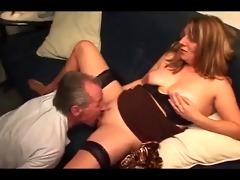 german old man cums in