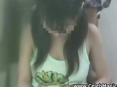 spycam youthful oriental schoolgirl