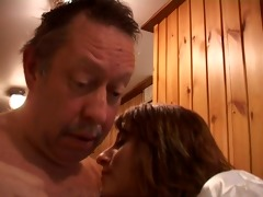 getting turned on by stripped sauna people