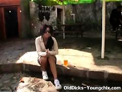 old boy seduces juvenile tourist