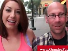 gia love picked up by old stud