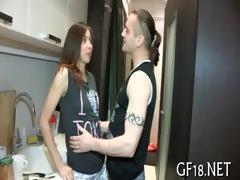 lad bangs her