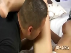 constricted cum-hole stretched wide