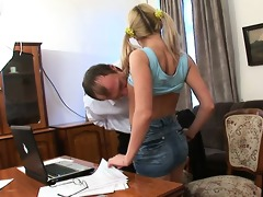 old trainer acquires jock loving action
