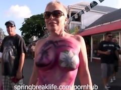 key west daytime street party