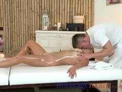 massage rooms miniature brunette hair receives