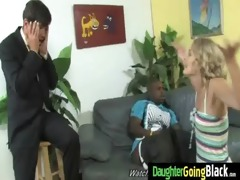 his teen daughter is curious about a large
