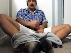 daddy felt so admirable after he is cum his
