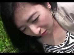 106yr old maki nonaka outside and creamed