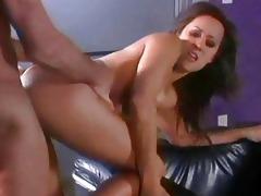 naughty pornstars love riding old schlongs