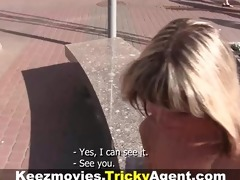 tricky agent - fake blonde cutie is hawt and