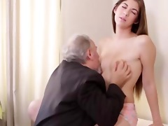 sexy czech student fucked by her tricky old