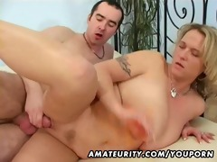 breasty dilettante wife sucks and copulates with