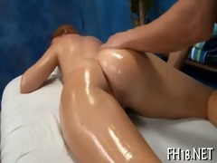 girl drilled doggy position