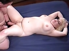 naughty fat playgirl taking old daddy rod
